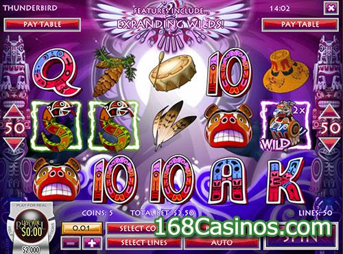 Thunderbird Slot - Free Online Rival Gaming Slots Game