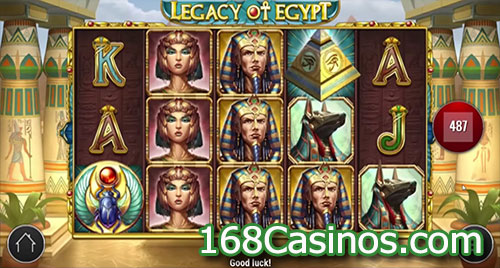 online casino legacy of egypt