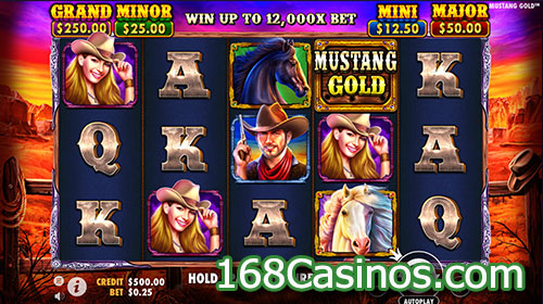 Mustang Gold Video Slot