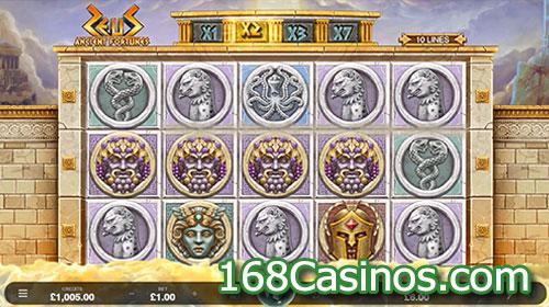Ancient Fortunes: Zeus Slot