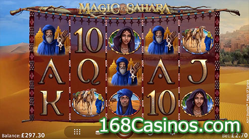Magic of Sahara video slot