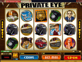 7 Sultans Casino - Private Eye Video Slot