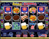 AllJackpots Casino - Bars and Stripes Slot