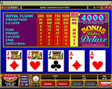 AllJackpots Casino - Video Poker