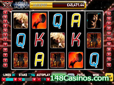 The X Factor Judges' Jackpot Slot