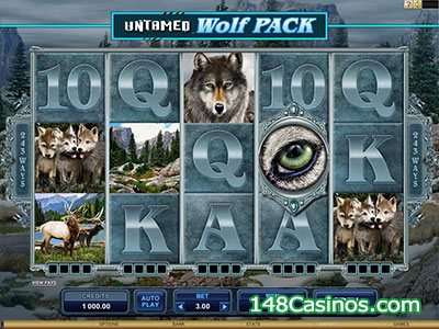 Untamed - Wolf Pack Slot
