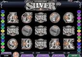 Red Flush Casino - Sterling Silver 3D