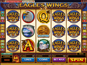 Royal Vegas Casino - Eagles Wings Slot