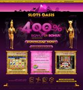 Slots Oasis  網上賭博娛樂場