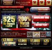 Superior  網上賭博娛樂場