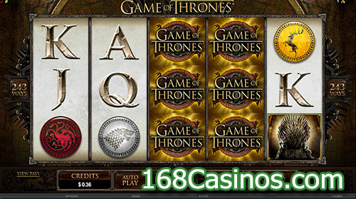 Game of Thrones 243 Lines Online Slot