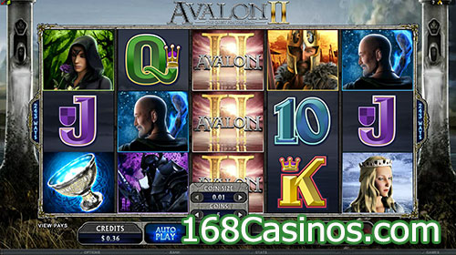 Avalon II - Quest for The Grail Slot