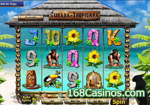 Cubana Tropicana Slots - Play this Video Slot Online