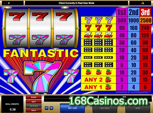 Fantastic 7s Slot