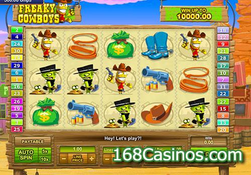 Freaky Cowboys Slot