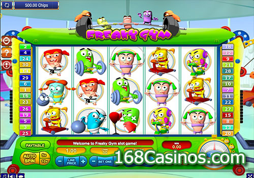 Freaky Gym Slot - Play GamesOS Casino Games Online