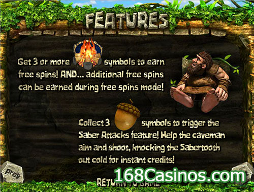 2 Million BC Slot Features