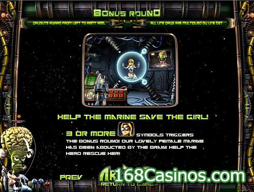 Arrival Slot Bonus Round