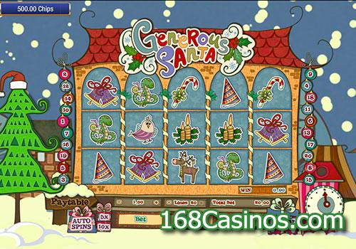 Generous Santa Slot