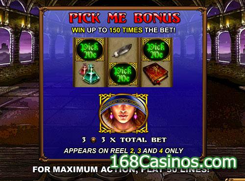 Great Griffin Slot Pick Me Bonus