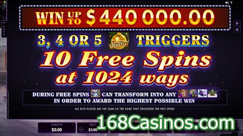 Happy Holidays Slot Free Spin