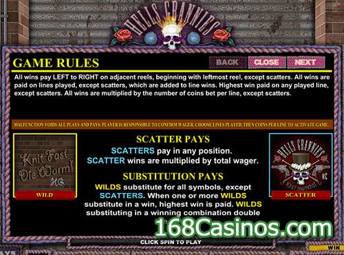 Hells Grannies Slot Scatter Bonus