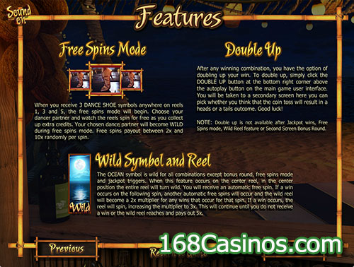 At The Copa Slot Features Games