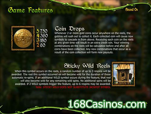 Greedy Goblins Slot Wild Feature