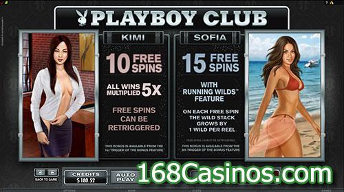 Playboy Slot Free Spins