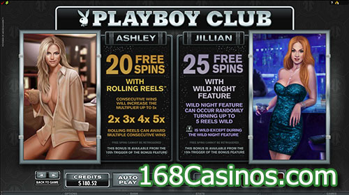Playboy Slot Free Spin Feature
