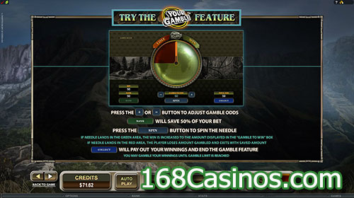 Untamed Crowned Eagle Slot Feature Game