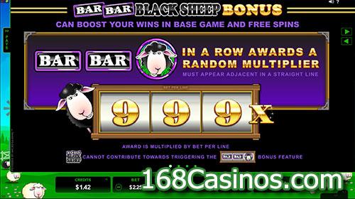 Bar Bar Black Sheep Slot Bonus