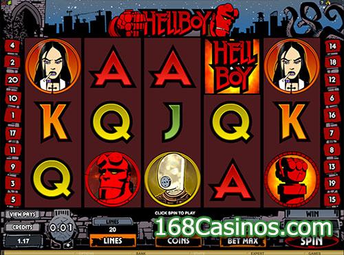 Hellboy Slot Game
