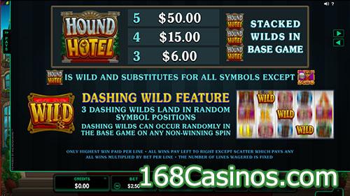 Hound Hotel Slot - Wild Feature