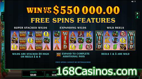 Hound Hotel Video Slot - Free Spins Bonus