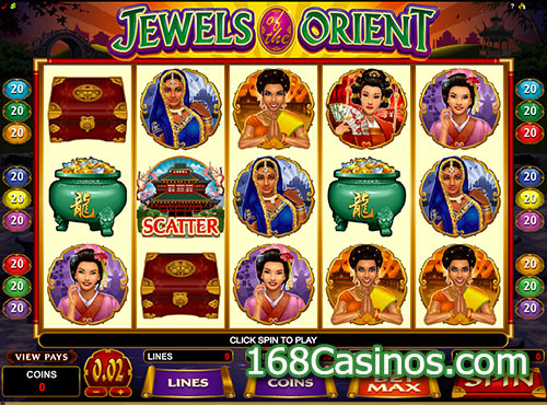 Jewels of the Orient Slot