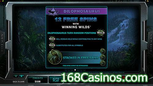 Jurassic Park Online Slot - Winning Free Spins Games