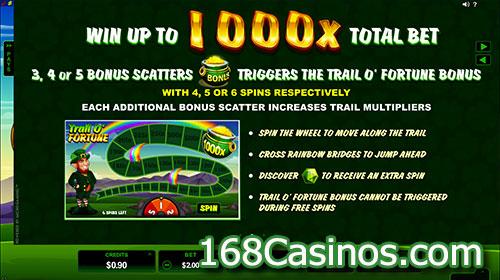 Lucky Leprechaun Slot - Bonus Scatters