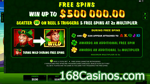 Lucky Leprechaun Online Slot - Free Spins