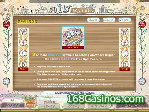 Lucky Rabbits Loot Online Slot Bonus Game