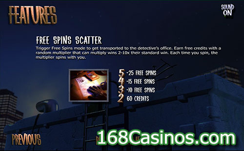 After Night Falls Slot Free Spin Bonus