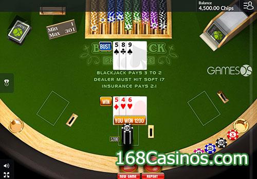 Blackjack Progressive (GamesOS)