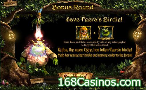 Enchanted Online Slot Bonus Round