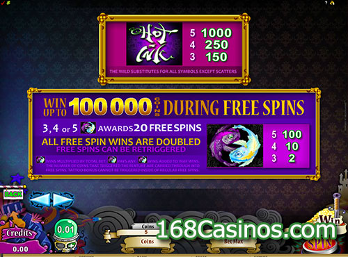 Hot Ink™ Slot Machine Game to Play Free in Microgamings Online Casinos