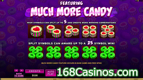 So Much Candy Slot - Much More Candy Bonus