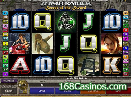 Tomb Raider II - Secret of the Sword Slot