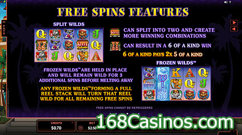 Kitty Cabana Online Slot Free Spins Feature