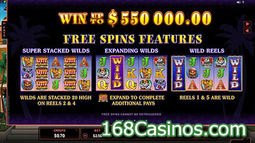 Kitty Cabana Slot Free Spins Bonus