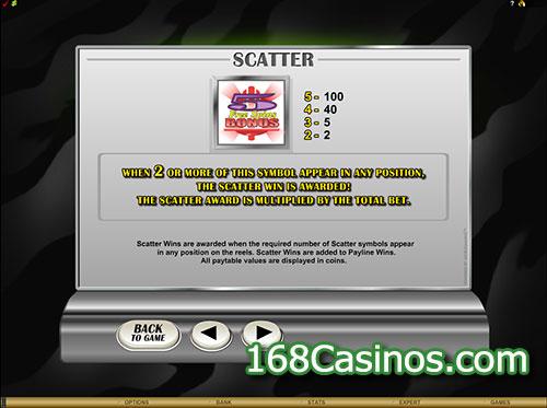 Retro Reels Online Slot Scatter