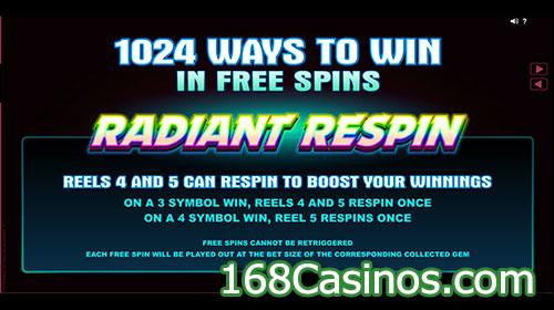 StarDust Slot Free Spin Bonus